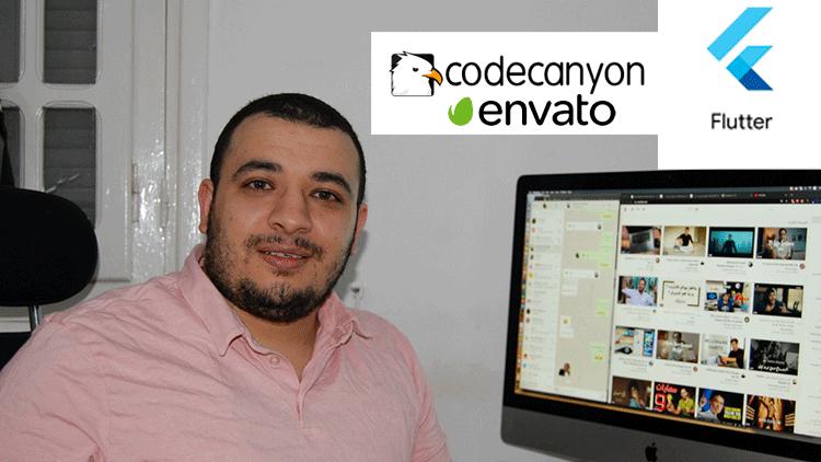 برمجة تطبيق بفلتر وبيعه على منصة انفاتو -Recipe Flutter App and sell to Envato